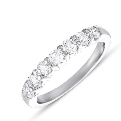 Ladies Prong Set Wedding Band EN7249-BPL