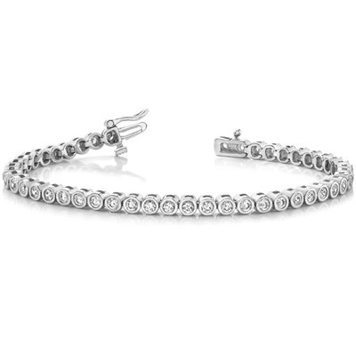 Ladies Diamond Bracelet B4011-4
