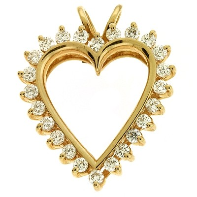 Ladies Heart Pendant P2103